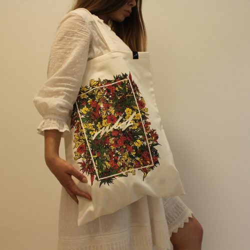 Rulof White Tote Bag