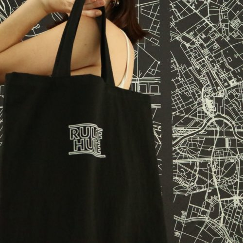 Rulof Black Tote Bag