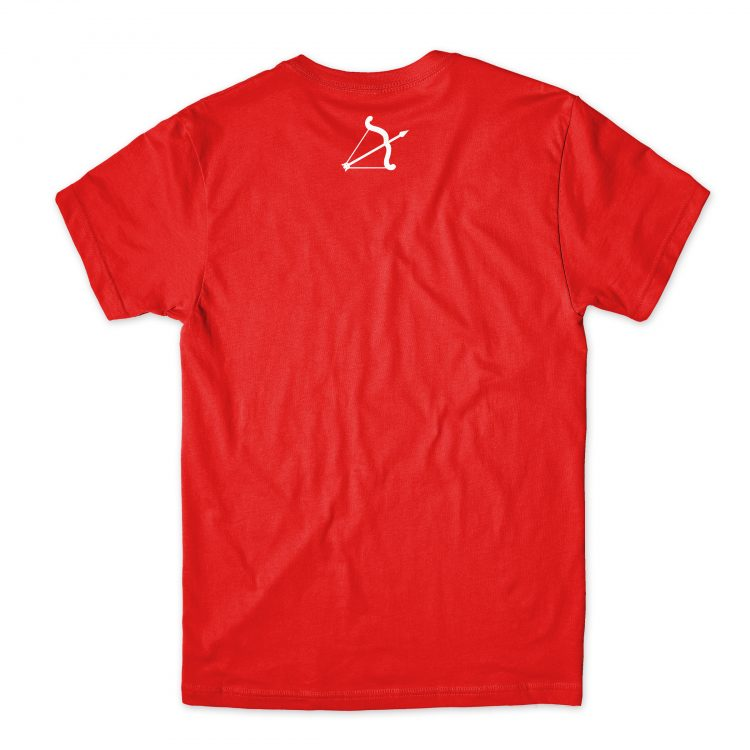 red rulof classic t shirt